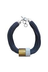 Christina Brampti Multiple aluminum barrel cord N