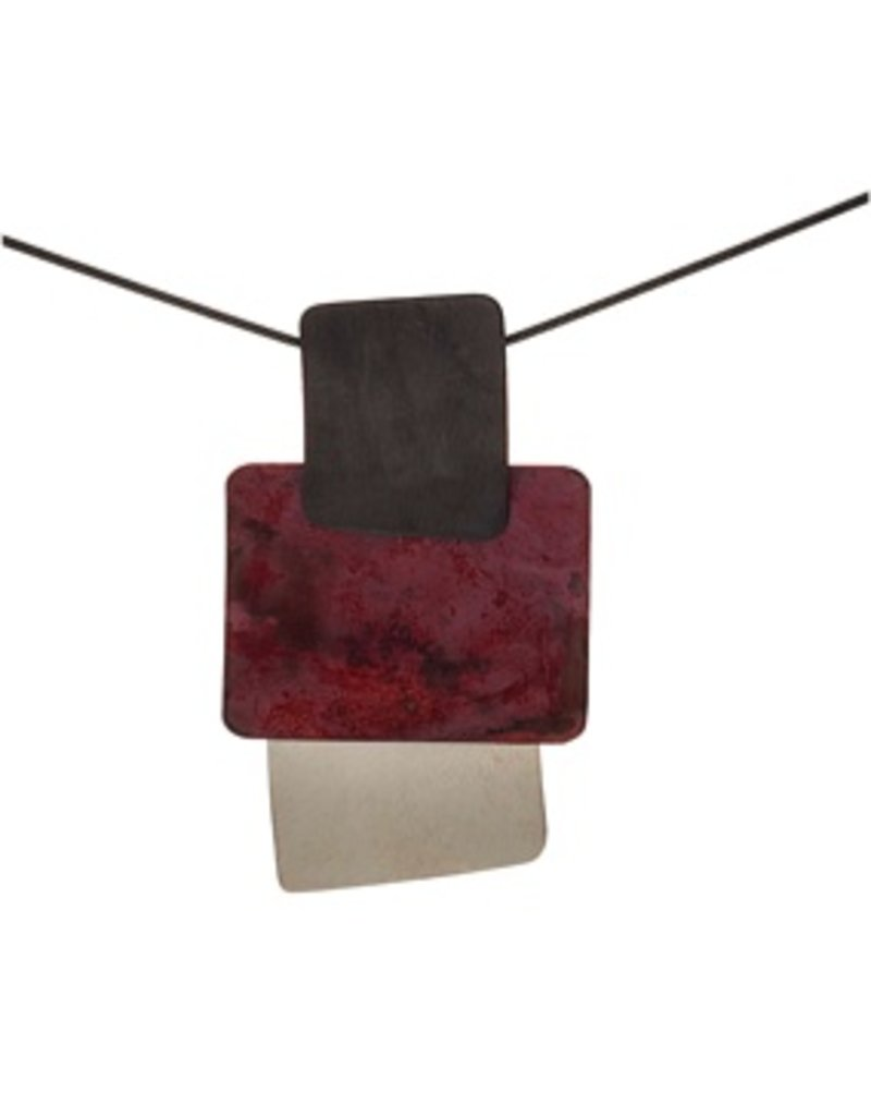 Aines Copper square silver acid shapes N