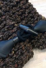Scarves Nordic Cowl Scarves Brown.