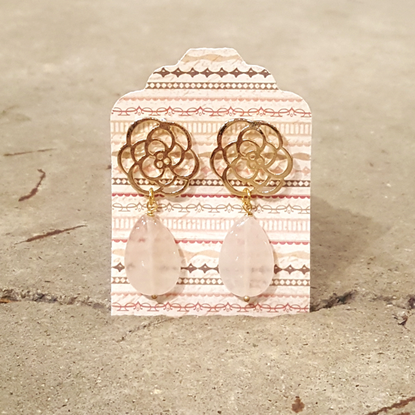 Earrings Desert Rose Earrings