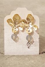 Earrings Golden Sunrise Dewdrop Earrings