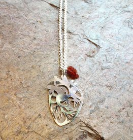 Necklaces Anatomical Heart Necklace