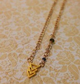 Accessories Womens Cheveron Necklace