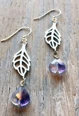 Earrings Spriggan Leaf Earrings