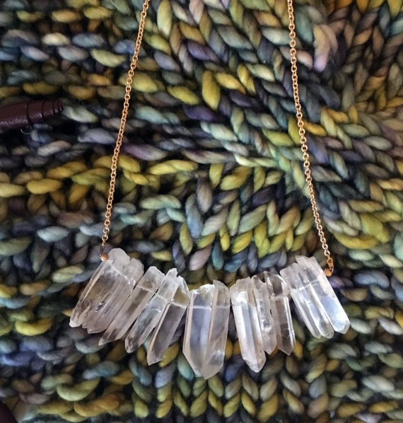 Necklaces Larnvidia Quartz Necklace