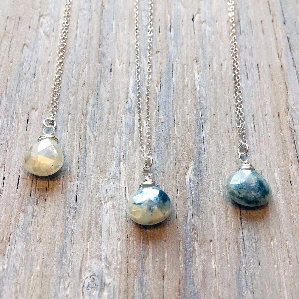 Necklaces Sherise Sapphire Necklace