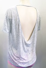 Tops Song Bird Grey Back Strap Shirt.