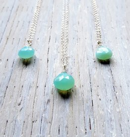 Necklaces Mary Chalcedony Necklace