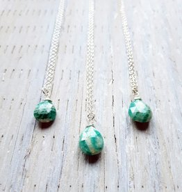 Necklaces Louise Amazonite Necklace