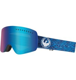 Dragon Dragon NFXs Goggle - Midnight w/ Blue Ion + Free Lens