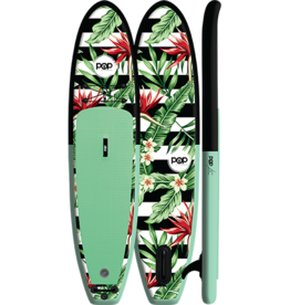POP Paddleboards Pop - Royal Hawaiian 10'6 Inflatable Paddleboard Package