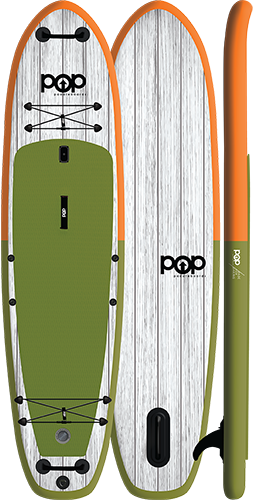 POP Paddleboards Pop El Capitan 11'6 Inflatable Paddleboard Package