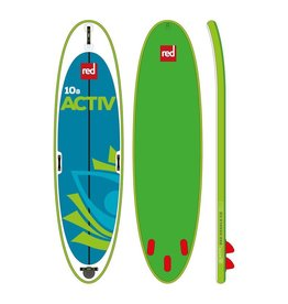 "Red Paddle Co Red 10'8"" Activ 2019 - Inflatable Paddleboard Package"