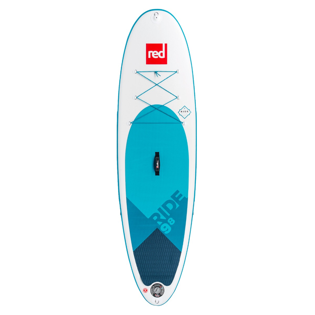 "Red Paddle Co Red 9'8"" Ride 2019- Inflatable Paddleboard Package"