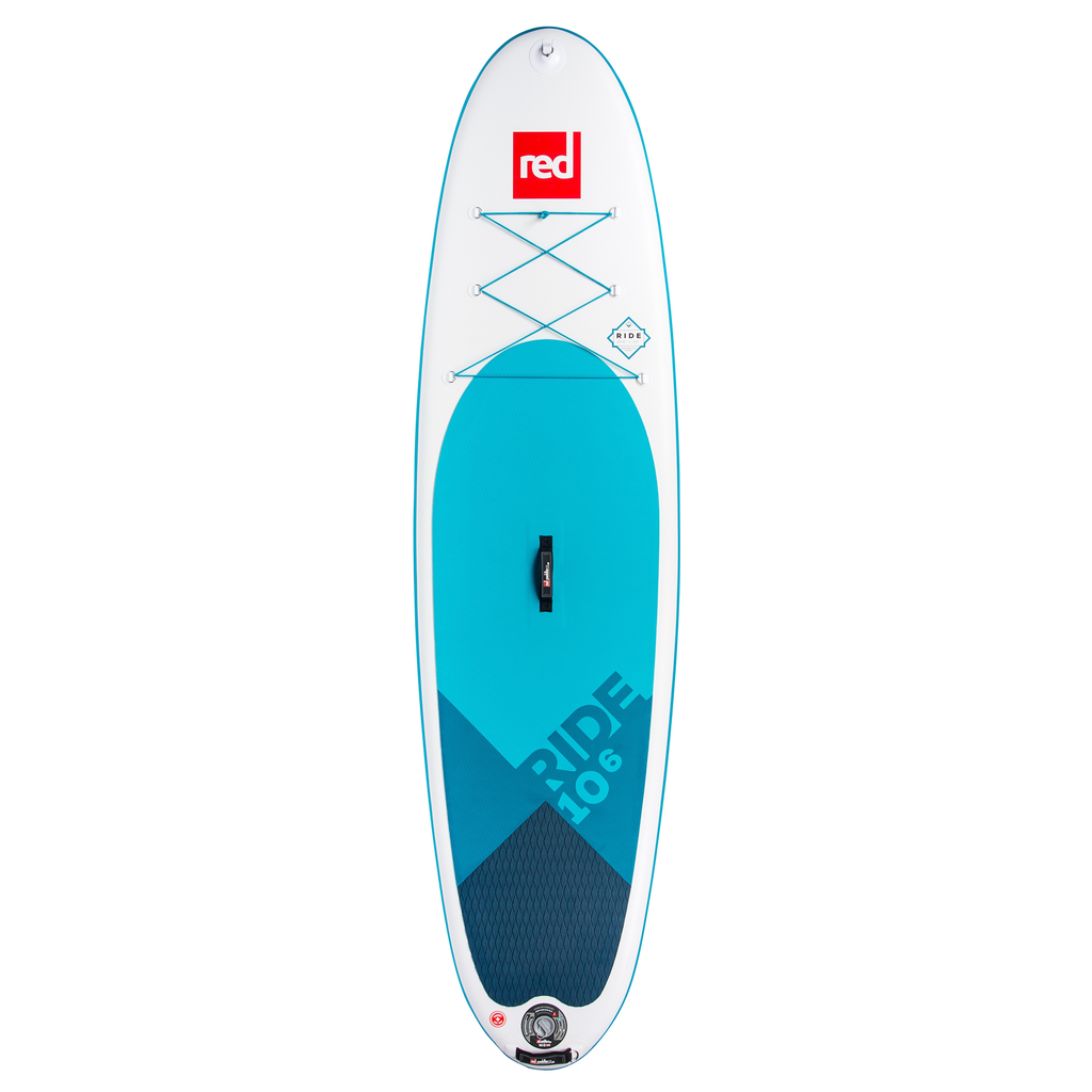 """Red Paddle Co RED 10'6"""" Ride 2019 - Inflatable Paddleboard Package"""