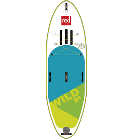 "Red Paddle Co Red 9'6"" Wild 2019 - Inflatable Paddleboard Package"
