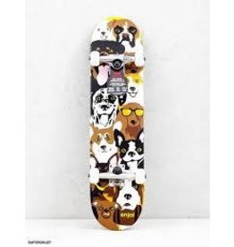 Enjoi Enjoi Dog Collage Youth Mid 7.375