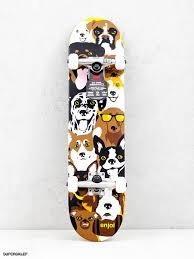 Enjoi Enjoi Dog Collage Youth Mid 7.375