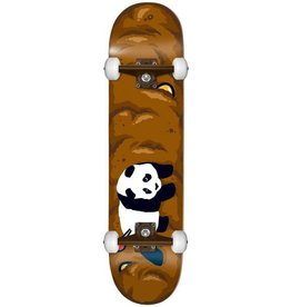 Enjoi Enjoi Logo Crap Resin Skateboard - Brown 7.75
