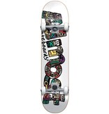 Almost Almost Aztecian White Youth 7.25 Skateboard Complete