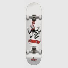 Almost Almost - Cat Tre Premium Complete Skateboard- White