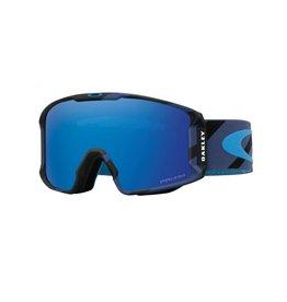f6d8d3fe61402 Oakley Oakley Lineminer Hzrd Bar Blue w Prism Sapphire Irid Goggle