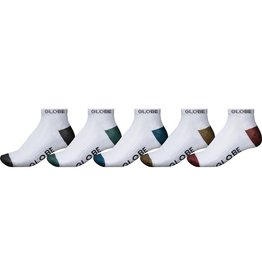 Globe Globe Ingles Ankle Socks - 5 Pack
