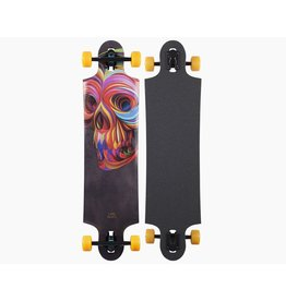 Landyachtz LandYachtz Ten Two Four Skull - With blue shark wheels 70mm