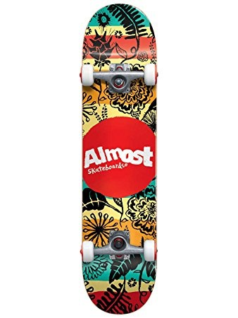 Almost Almost Primal Print  7.0 First Push Complete Skateboard
