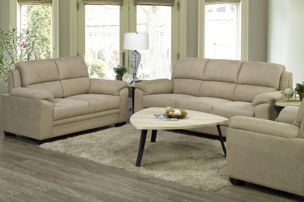 T 1165 l love seat taupe furniture deco depot