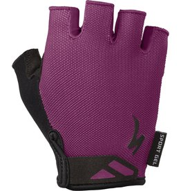 Specialized Women's Body Geometry Sport Gloves Cast Berry