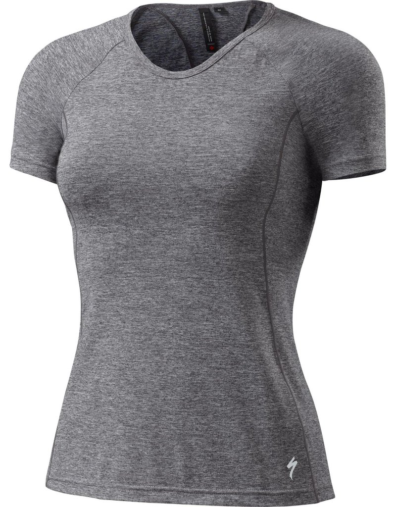 Specialized Shasta Short Sleeve Top Carbon Heather