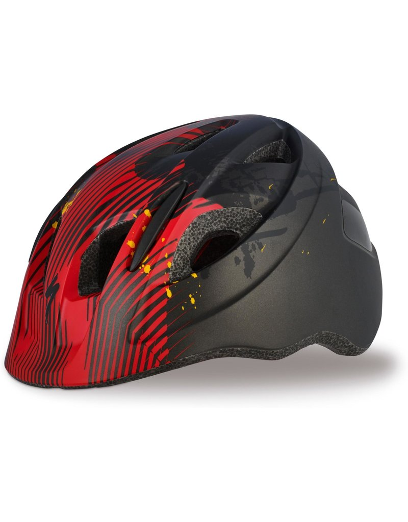 Specialized Mio SB Toddler Helmet - Black / Red Flames