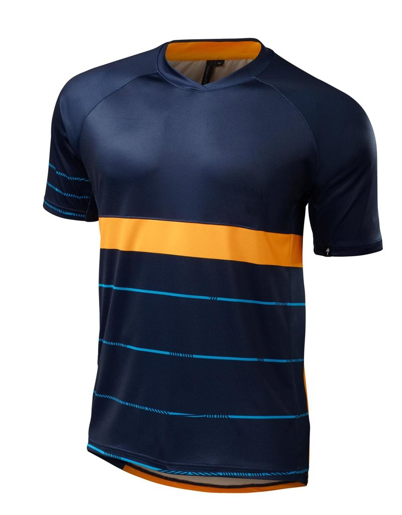 Specialized Enduro Comp Jersey Navy / Gallardo Orange