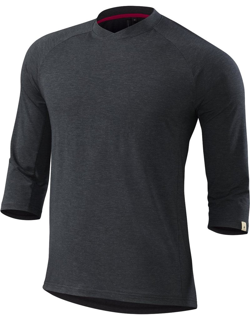 Specialized Enduro drirelease Merino 3/4 Jersey Black Heather