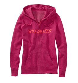 Specialized Women's Podium Hoodie Berry / Acid Red