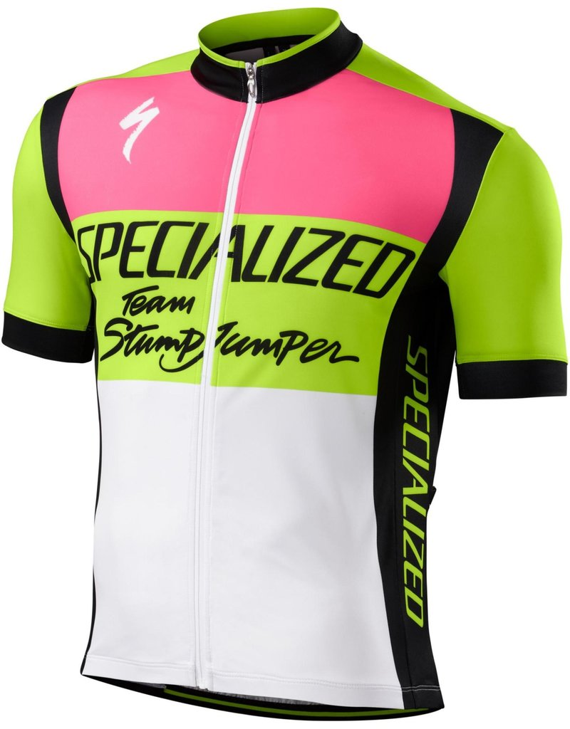 Specialized RBX Comp Jersey Team Stumpjumper Neon Yellow