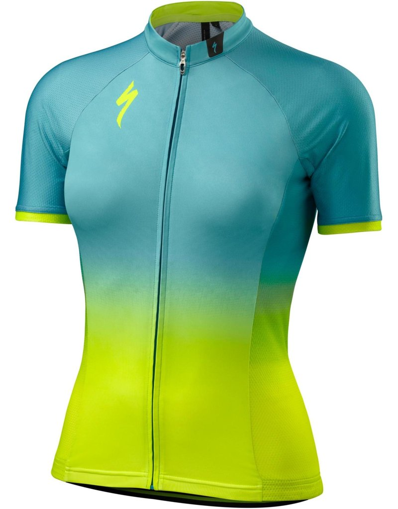 Specialized Women's SL Pro Jersey Turquoise Fade