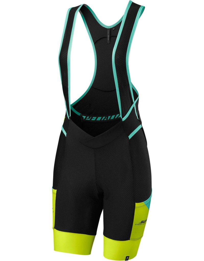 Specialized Women's Mountain Liner Bib Shorts Light Turquoise