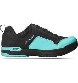 Specialized Women's 2FO ClipLite Lace MTB Shoes Black / Turquoise