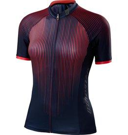 Specialized Women's SL Pro Jersey Line Fade / Acid Red