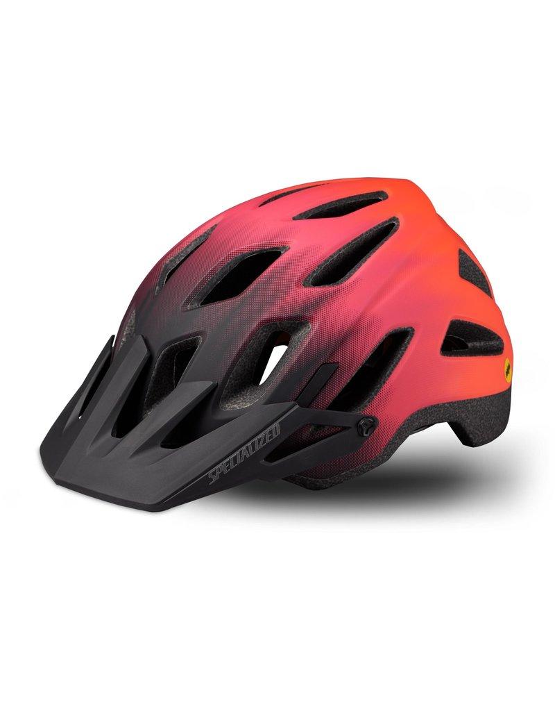 Specialized Ambush Comp Helmet - ANGi/MIPS - Acid Lava/Acid Purple -