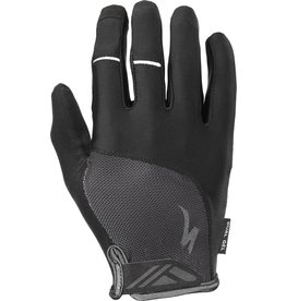 Specialized Body Geometry Dual-Gel Long Finger Gloves Black