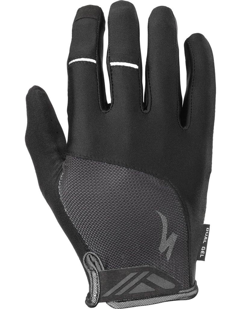 Specialized Body Geometry Dual-Gel Long Finger Gloves Black