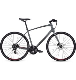 Specialized Sirrus - Charcoal / Candy Red / Black Reflective