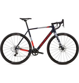 Specialized Crux Elite X1 Cast Blue / Rocket Red / Cool Grey 58