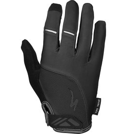 Specialized Women's Body Geometry Dual-Gel Long Finger Gloves Black
