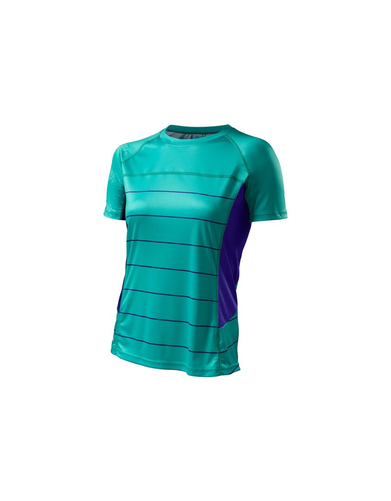 Specialized Women's Andorra Comp Jersey Emerald Green / Indigo