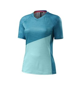 Specialized Women's Andorra Comp Jersey Turquoise / Light Turquoise