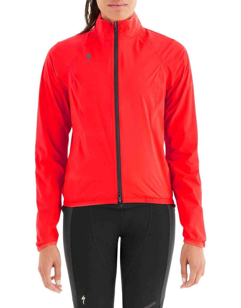 Specialized Women's Deflect H2O Pac Jacket Rocket Red